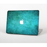 The Grunge Green Textured Surface Skin Set for the Apple MacBook Air 13""