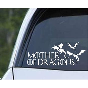 Game Of Thrones - Mother of Dragons ver2 Die Cut Vinyl Decal Sticker
