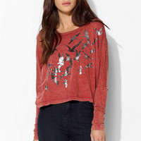 Project Social T Foiled Bird Tee - Urban Outfitters