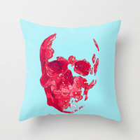 SK1013 Throw Pillow by Deniz Erçelebi