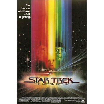 Star Trek The Motion Picture Movie poster Metal Sign Wall Art 8in x 12in