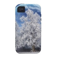 Magic Winter Vibe iPhone 4 Case from Zazzle.com