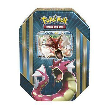 Pokemon TCG Card Game Shiny Gyarados EX Spring 2016 Triple Power Collector's Tin