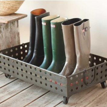 Footed Boot Tray - VivaTerra