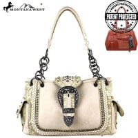 Montana West MW220G-8085 Concealed Carry Handbag