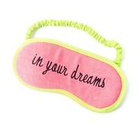 In Your Dreams Sleep Mask | Claire's