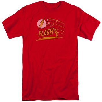 Dc - Like Lightning Short Sleeve Adult Tall Shirt Officially Licensed T-Shirt