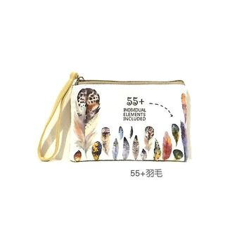New Cartoon Women's Purse Ladies Day Clutches Coin Purses Vintage Women Storage Bags Purse for Coins Women Wallet Pouch