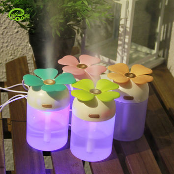 Multi-color Leaf Mini Creative Air Purifier [6283331654]