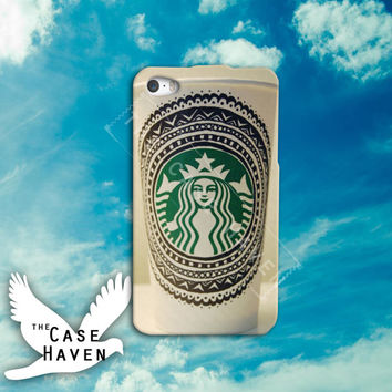 Coffee mug starbucks star bucks seattle cute funny tumblr Custom iPhone Case for iPhone 4 and 4s and iPhone 5 and 5s and 5c Case