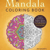 The Mandala Coloring Book CLR
