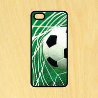 Soccer Ball in Net Phone Case iPhone 4 / 4s / 5 / 5s / 5c /6 / 6s /6+ Apple Samsung Galaxy S3 / S4 / S5 / S6