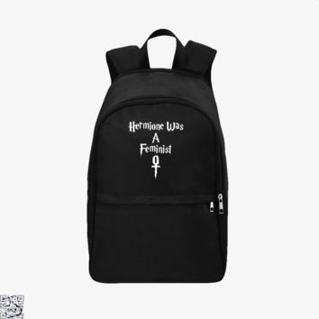 Hermione Was A Feminist, Harry Potter Backpack