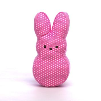 PEEPS & Company : PEEPS BUNNY MEDIUM POLKA DOT BEAN BAG
