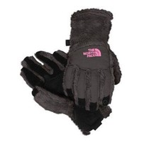 DCCKBWS The North Face Girl's Denali Thermal Etip Graphite Gray Gloves