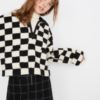 Sherpa Popover in Checkerboard
