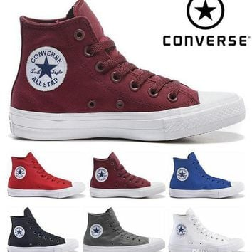 Original Converse Chuck Tay Lor II 2 Shoes For Men Women Brand S 9200090eb7b2