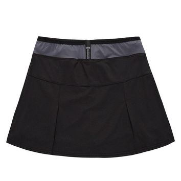 New Women Skirt Polyester Tennis Skirts Quick Dry Sports Skorts Five Colors