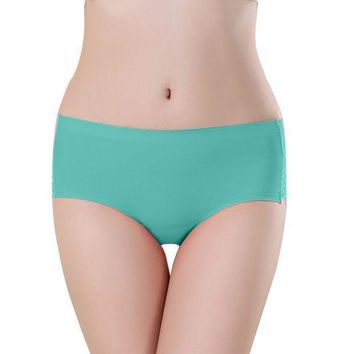 PEAP78W Women Soft Underpants Seamless Lingerie Briefs Hipster Underwear Panties