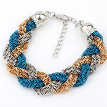 New Arrival Great Deal Stylish Shiny Awesome Hot Sale Gift Metal Chain Bracelet [6573077831]