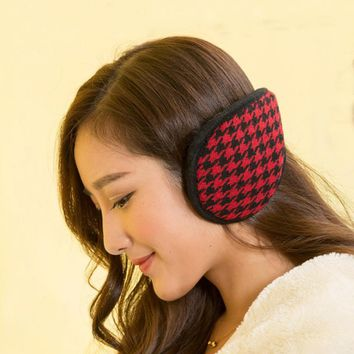 Free shipping!! Fashion Earmuffs Ear Muffs Ear Warmers Earmuffs Winter Outdoor Women MulticolorHigh Quality Hot Sales
