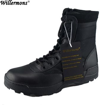 US Army Women's Military Desert Camouflage Combat Tactical Boots Women Outdoor Hiking
