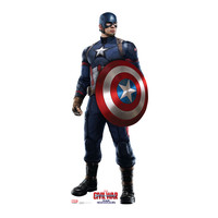 Captain America Civil War Cardboard Standup