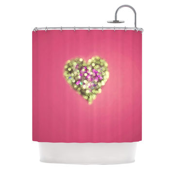 "Beth Engel ""Make Your Love Sparkle"" Shower Curtain"