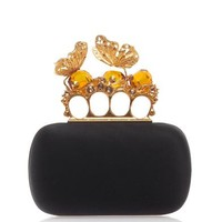 ALEXANDER MCQUEEN Butterfly knuckle box clutch