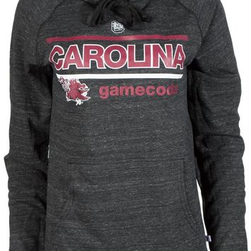 Official NCAA University of South Carolina Fighting Gamecocks USC COCKY SC Buttersoft Adult Hoodie - Unisex, Triblend, Women's