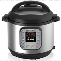 Instant Pot IP-DUO60 7-in-1 Programmable Pressure Cooker with Stainless Steel Cooking Pot and Exterior, 6-Quart/1000-watt, Latest 3rd Generation Technology
