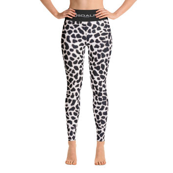 White Leopard Active Sport Tights