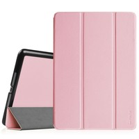 Fintie iPad Air 2 Case - [SlimShell] Ultra Lightweight Stand Smart Protective Cover with Auto Sleep / Wake Feature for Apple iPad Air 2, Pink