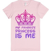 My Favorite Princess-Female Light Pink T-Shirt