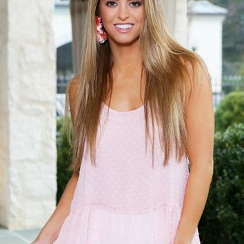 The Jasmine Top in Blush | Monday Dress Boutique