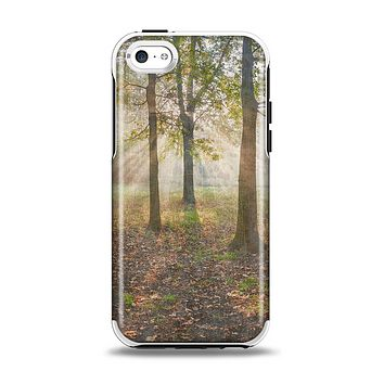 The Vivia Colored Sunny Forrest Apple iPhone 5c Otterbox Symmetry Case Skin Set