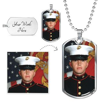 Personalized Photo Dog Tag Luxury Photo Dog Tag