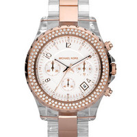 MICHAEL Michael Kors Two-Tone Crystal Watch - Michael Kors