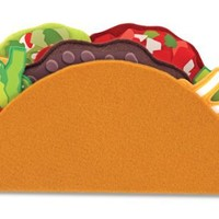 Melissa & Doug Felt Food - Taco And Burrito Set
