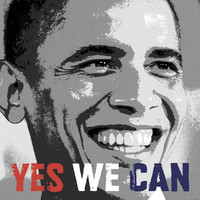 Barack Obama: Yes We Can Art Print Poster by Celebrity Photography