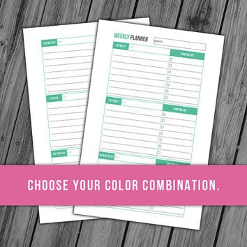 graphic about Discbound Planner Pages Printable identify PrintableJoanie upon Etsy upon Wanelo