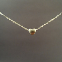 Mini, Cute, Heart, Sterling Silver Chain, Necklace