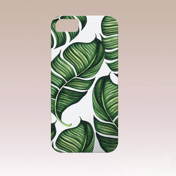 Tropical phone Case,Tropical iphone case,Leaf iphone case, Iphone 6 case , Iphone 5 case, Iphone 4 case, iphone cover, Tropical i6 phone