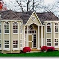 Grand Portico Playhouse - The Ultimate Kids' Mansion!