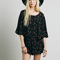 Free People Womens Night in Venice Set - Black