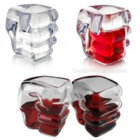 Slammers Fist Shaped Shot Glasses