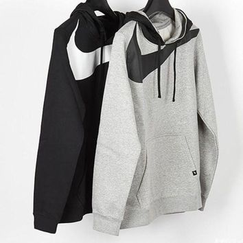 PEAP2Q nike fashion casual print long sleeve pullover hoodie