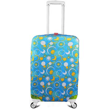 Suitcase Cover Bag Case Travel Accessories Luggage Cover Elastic Faric Protector Spandex Protection Covers for Trolley Case