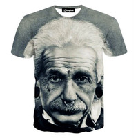 Einstein the Badass Tee
