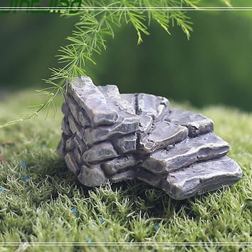 1 Steps Fairy Garden Accessories, Dollhouse Miniature Figurines DIY Plants Moss Succulent Terrarium Suppliers